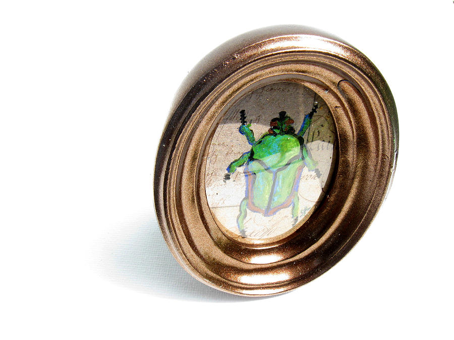 June Bug Painting  - June Bug Fine Art Print