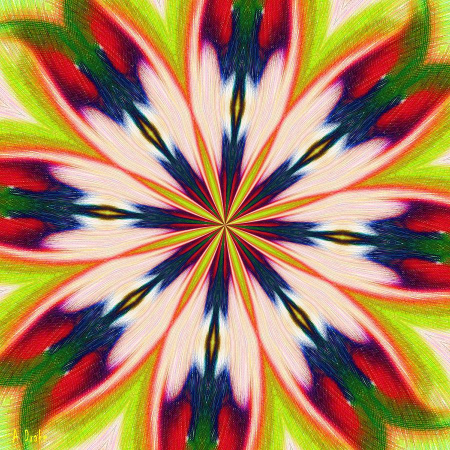 Jungle Flower Bloom Digital Art