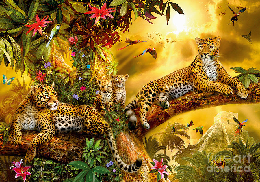 Jungle Jaguars is a piece of digital artwork by Jan Patrik Krasny ...