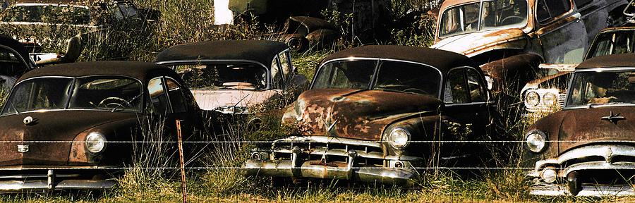 Junk Yard Photograph