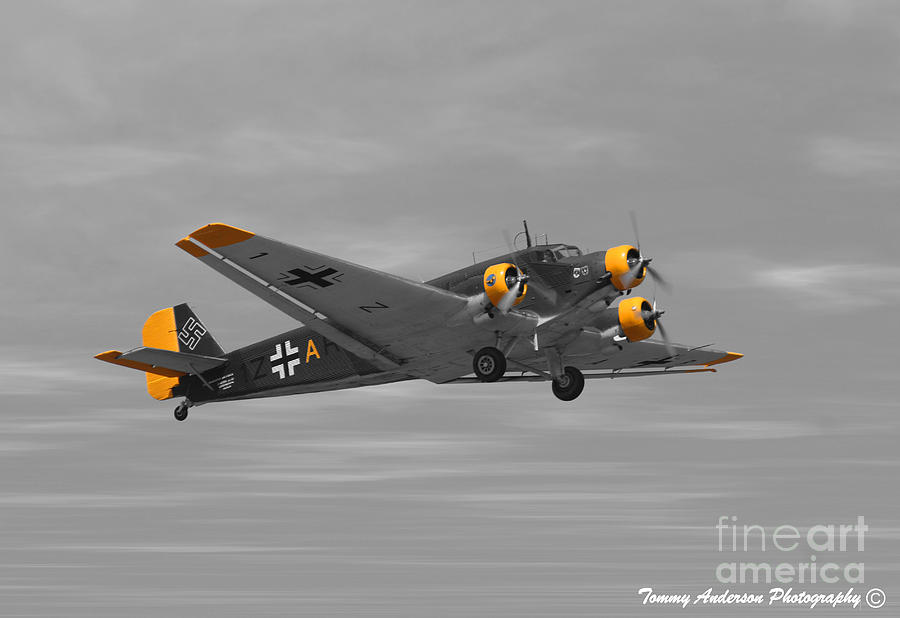 Junkers Ju 52 Photograph - Junkers Ju 52 by Tommy Anderson