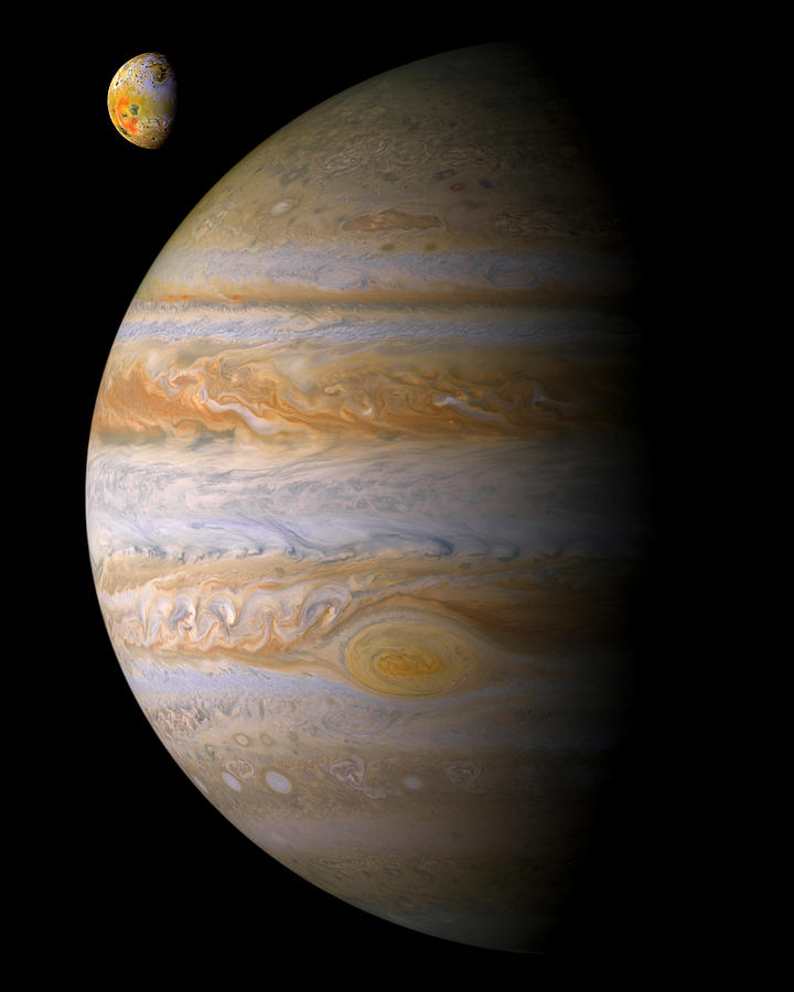 Jupiter And Io Photograph  - Jupiter And Io Fine Art Print