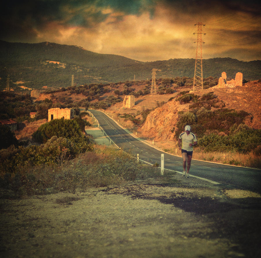 Road Photograph - Just A Dream by Taylan Soyturk
