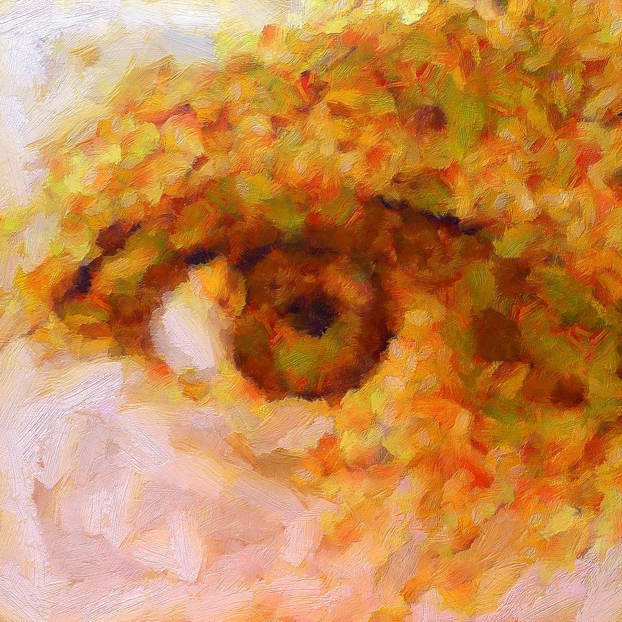 Eye Digital Art - Just A Look by RochVanh