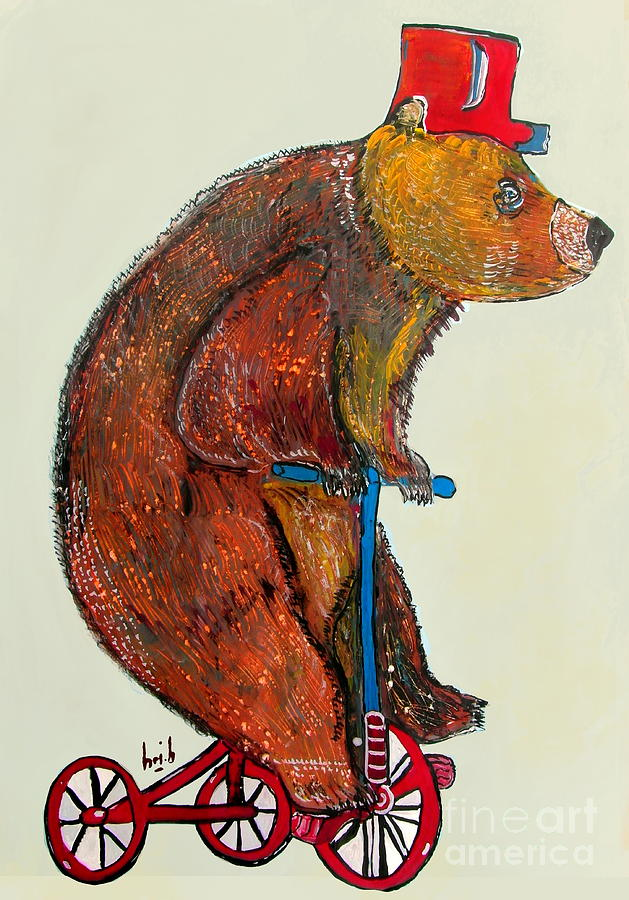 Just Bear Yourself  Painting  - Just Bear Yourself  Fine Art Print