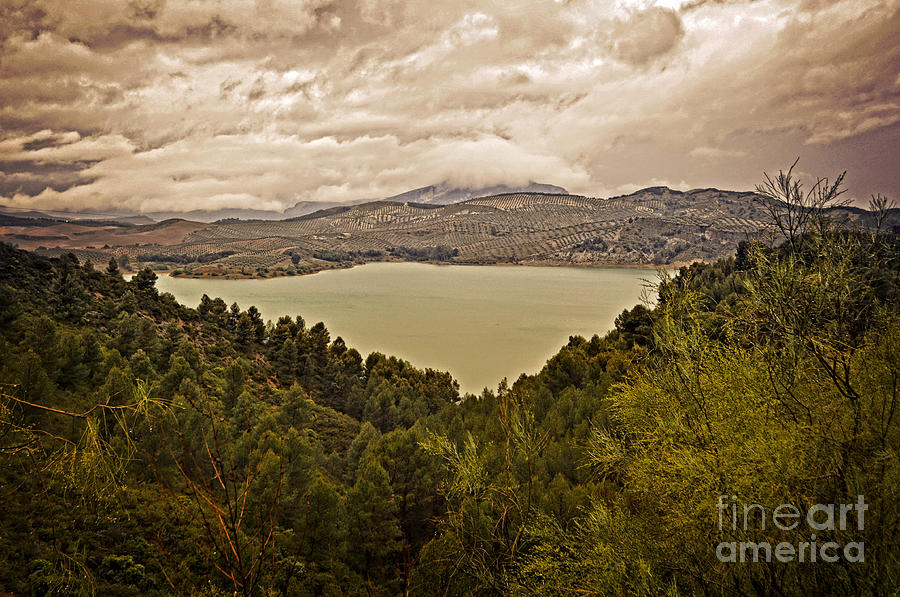 Just Before The Storm - Ardales Photograph  - Just Before The Storm - Ardales Fine Art Print