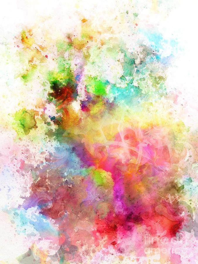 Just Colors Digital Art - Just Colors 6 by Artwork Studio