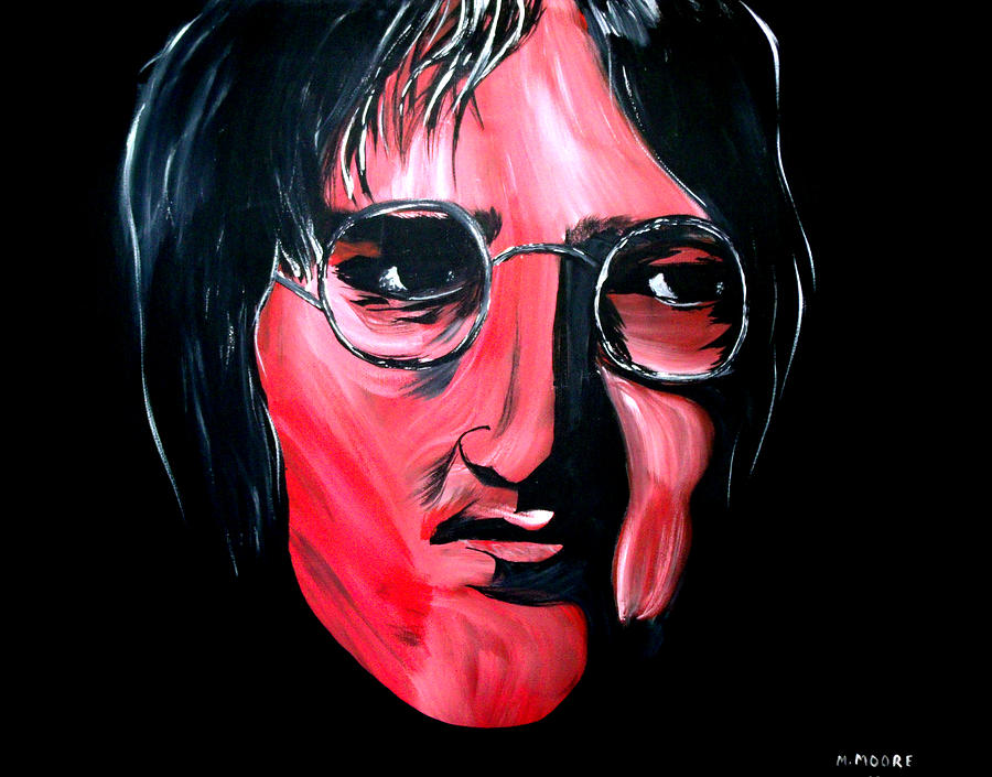 John Painting - Just John by Mark Moore