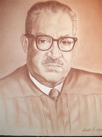 Justice Marshall Drawing