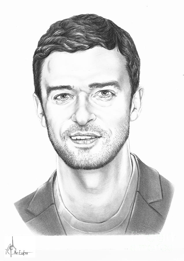 Justin Timberlake Drawing