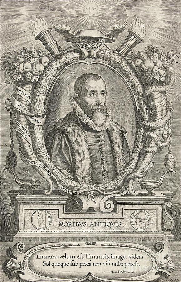 Justus Lipsius, Belgian Scholar Photograph
