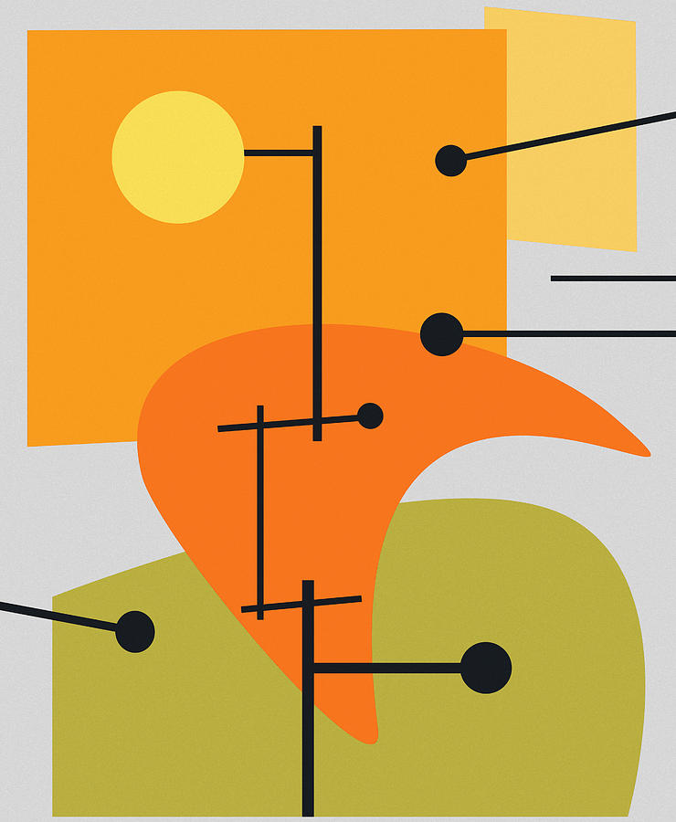 Juxtaposing Thoughts Digital Art