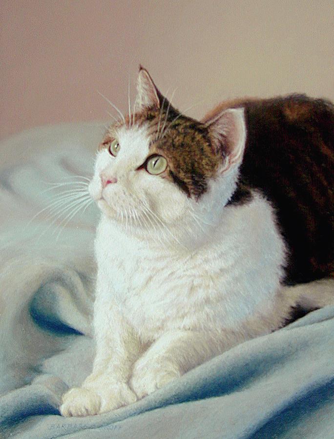 K C  Kitty Cat Painting