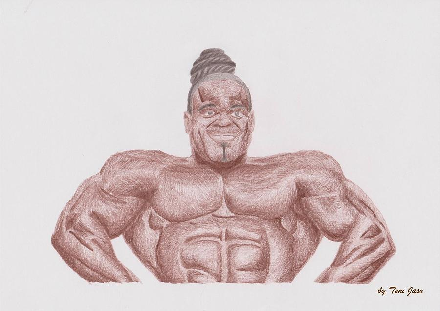 Kai greene by toni jaso for Kai greene painting