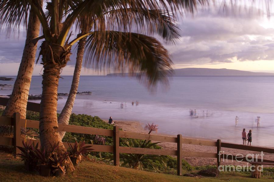 Kai Makani Hoohinuhinu O Kamaole - Kihei Maui Hawaii Photograph