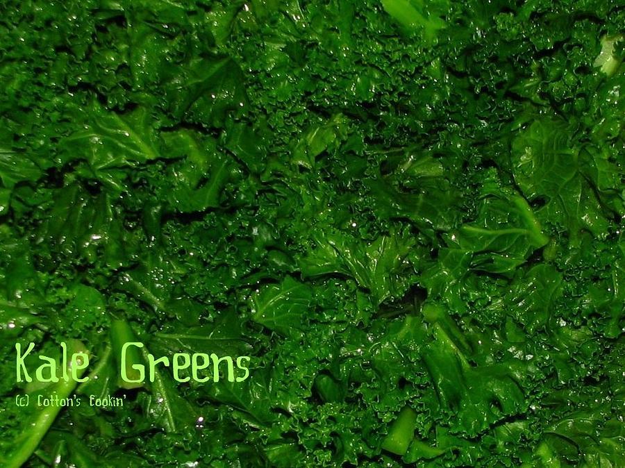 Kale Greens Photograph