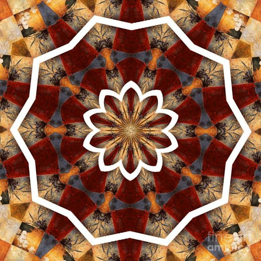 Kaleidoscope Photograph - Kaleidoscope 29 by Lena Photo Art
