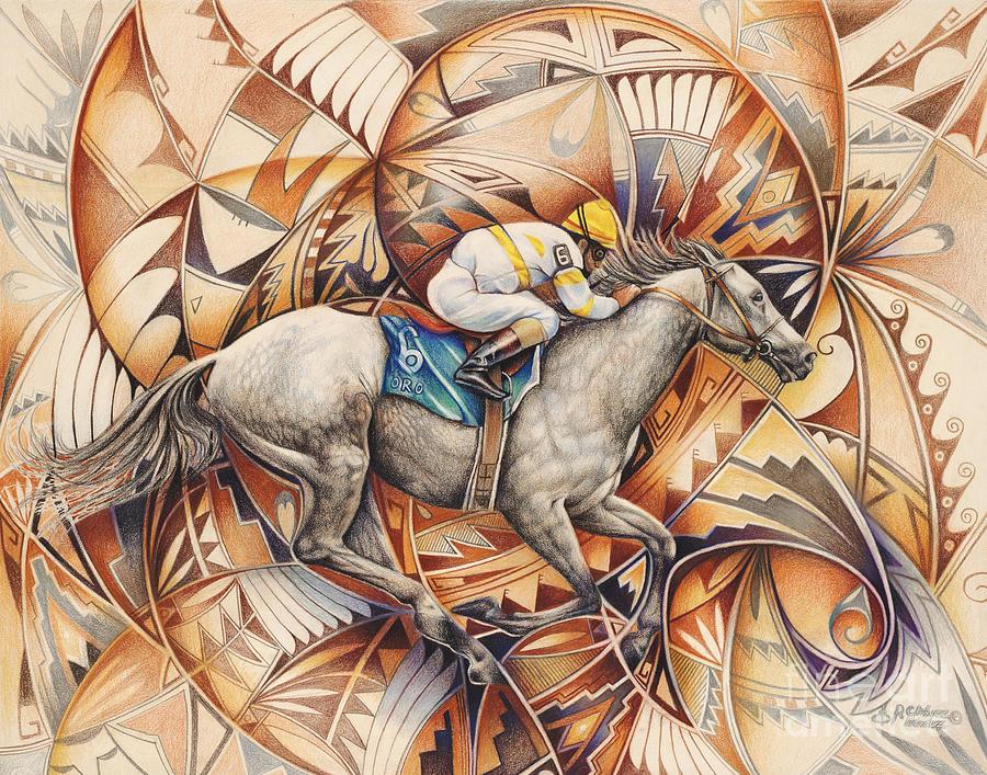 Kaleidoscope Rider Painting