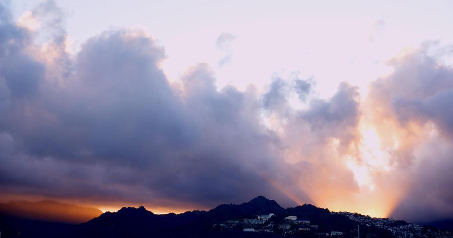 Kamehameha Sunrise Photograph