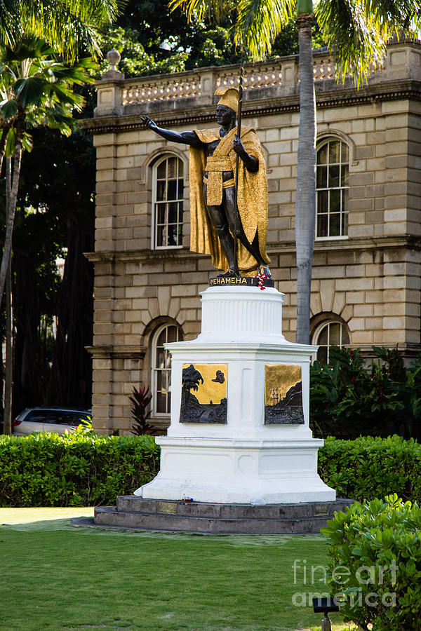 Kamehameha The Great Photograph