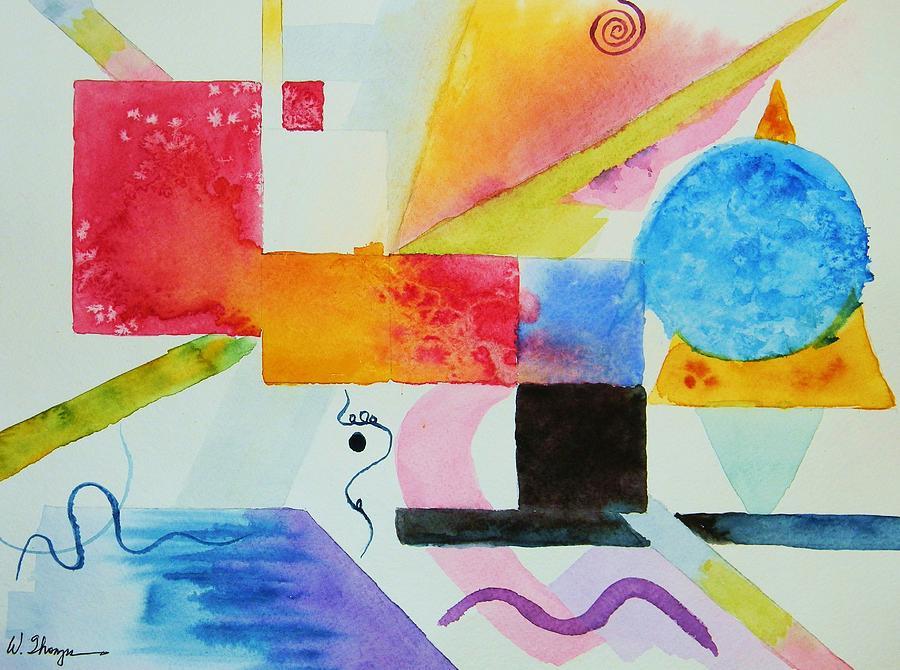 Kandinsky Dreaming Painting by Warren Thompson