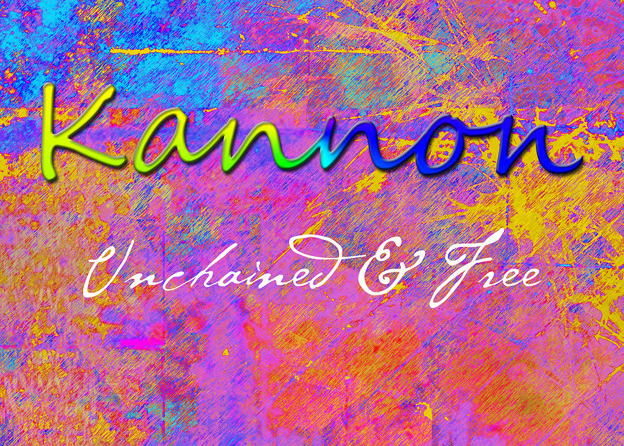Kannon - Unchained And Free Painting  - Kannon - Unchained And Free Fine Art Print