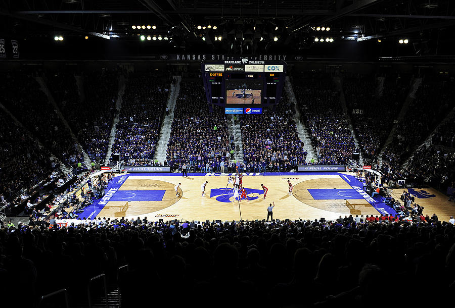 Kansas State Wildcats Fred Bramlage Coliseum Photograph