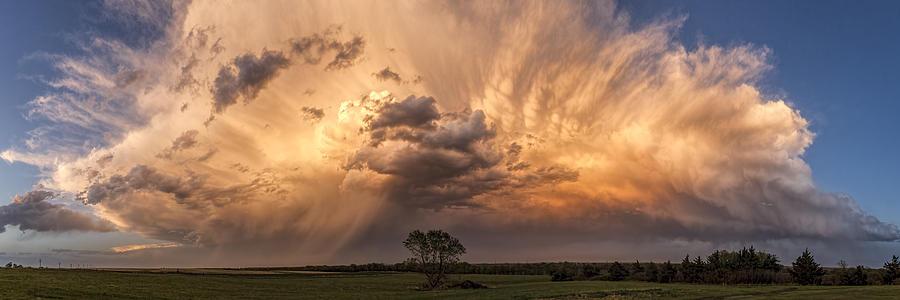 Kansas Storm Cloud Photograph