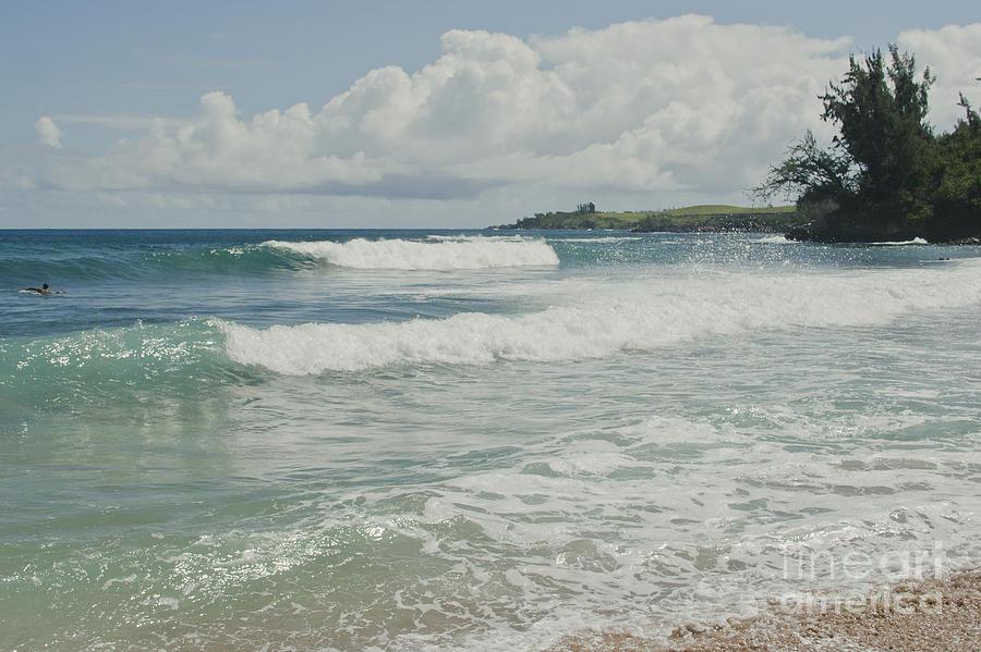 Kapalua Surf Honokahua Maui Hawaii Photograph