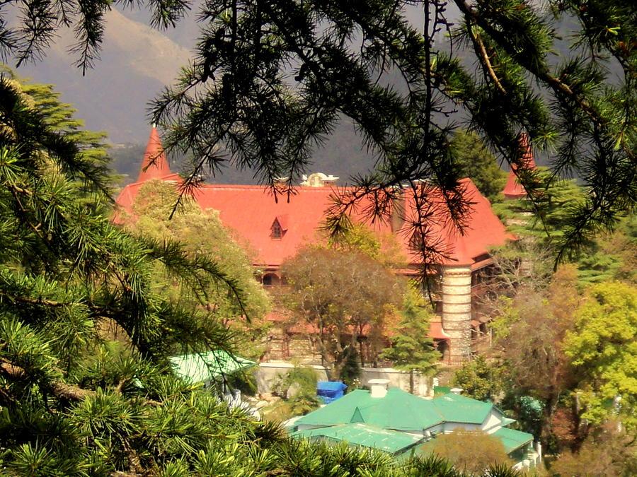 Kapurthala Palace Mussoorie Photograph