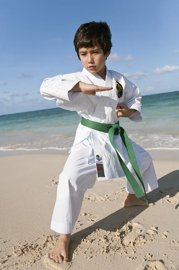 Karate Kid Photograph  - Karate Kid Fine Art Print