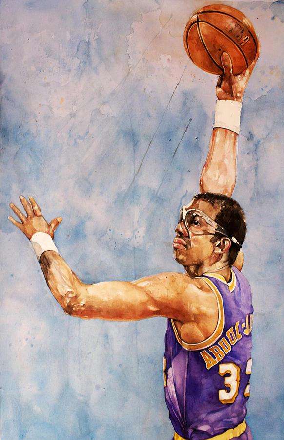 Kareem Abdul Jabbar Painting