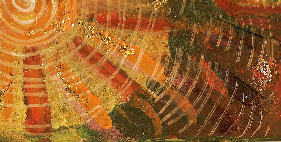 Circles Painting - Karma  by Anne-Elizabeth Whiteway
