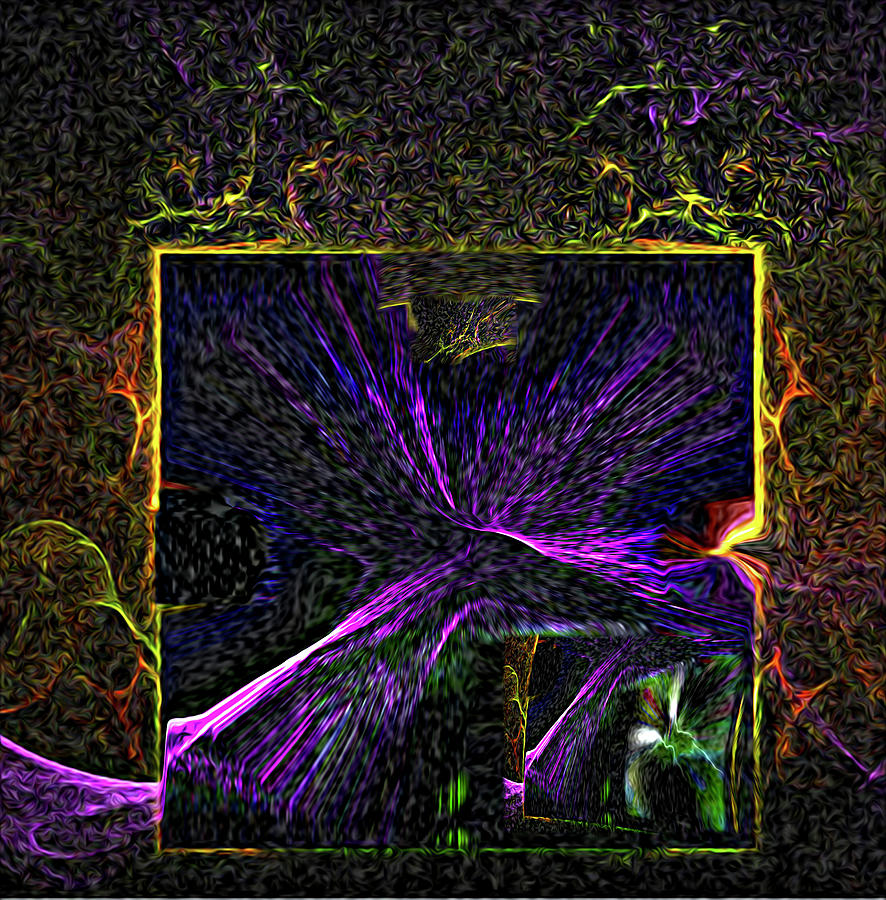Karmic Doorways Of Destiny Digital Art