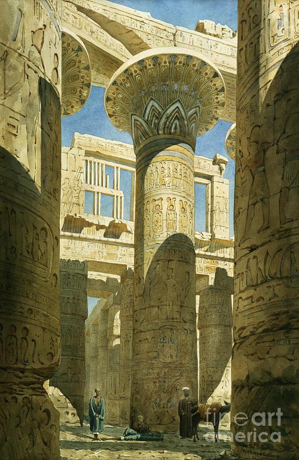 Karnak Painting
