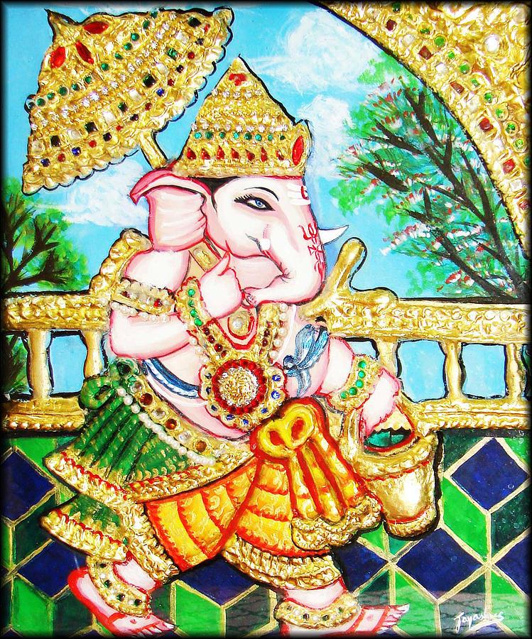 Kasi Yatra Ganesh Painting