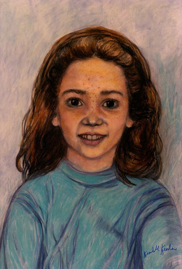 Kendall Kessler Drawing - Kathleen Mahin by Kendall Kessler