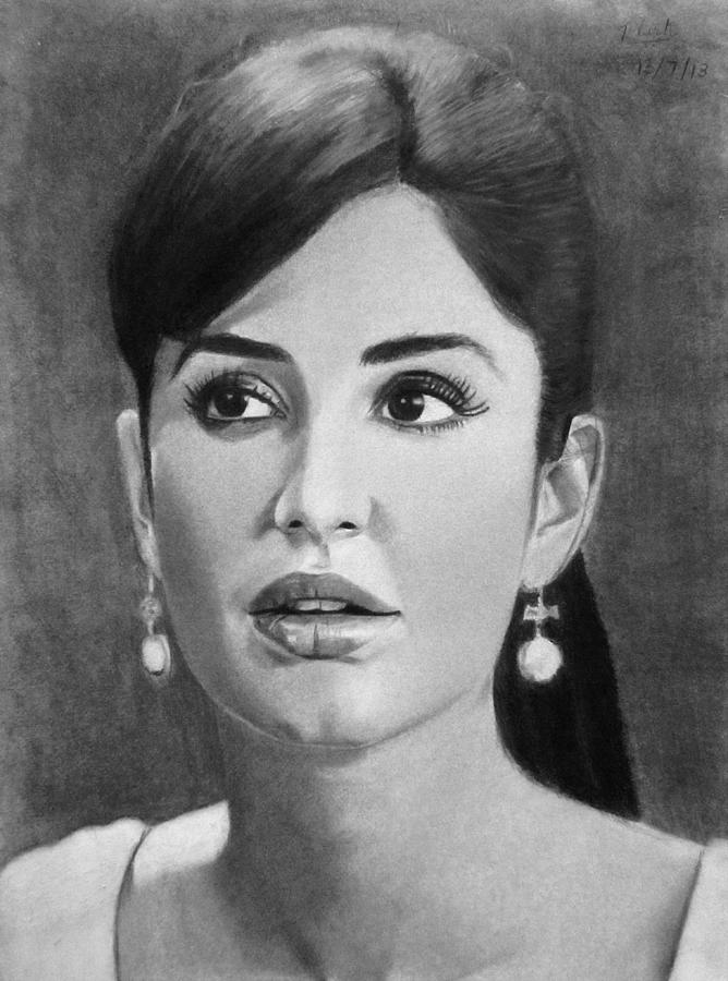 Katrina Kaif Drawing