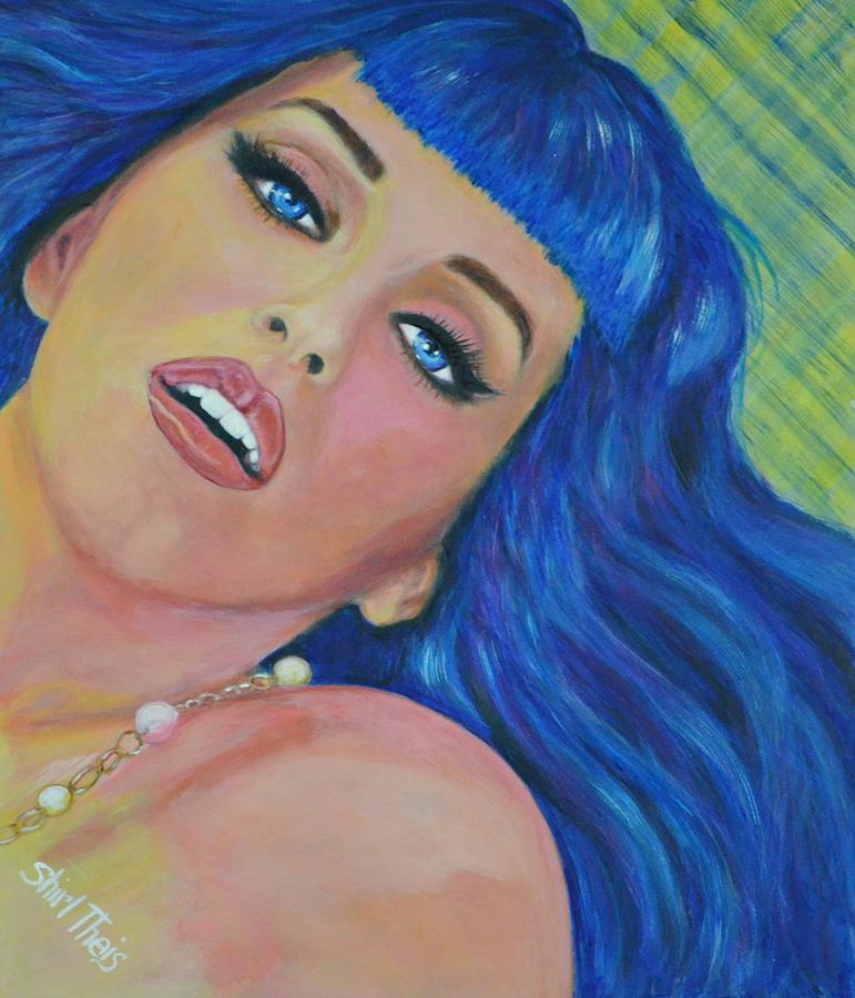 Katy Perry Painting  - Katy Perry Fine Art Print
