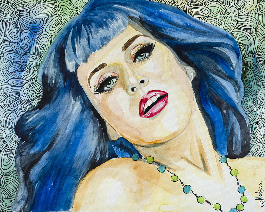 Katy Perry Painting