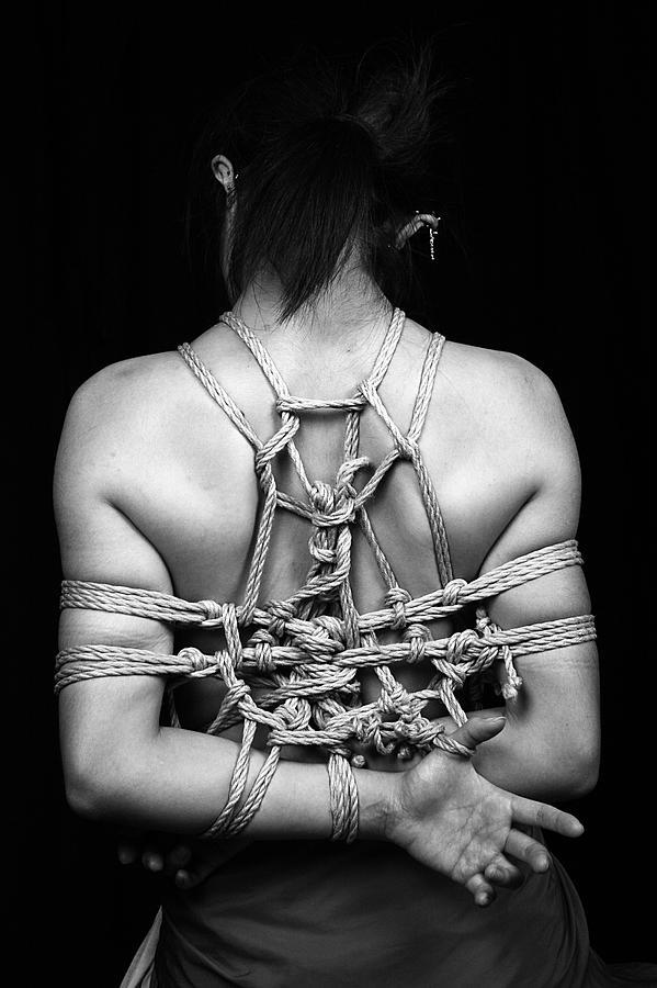 Bondage Photograph - Kazarinawa by JianGang Wang