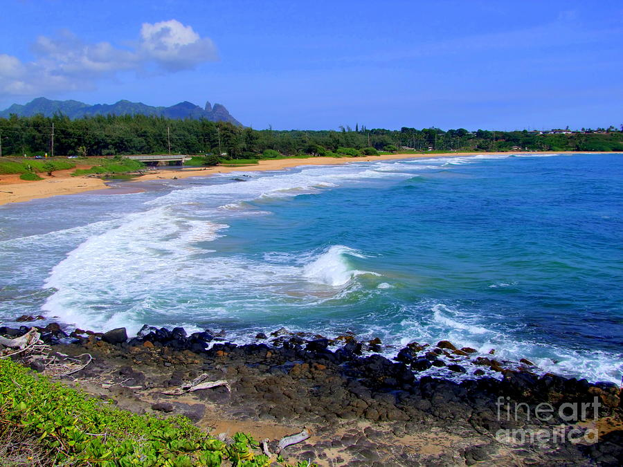 Kealia Beach - Kauai Hawaii Photograph