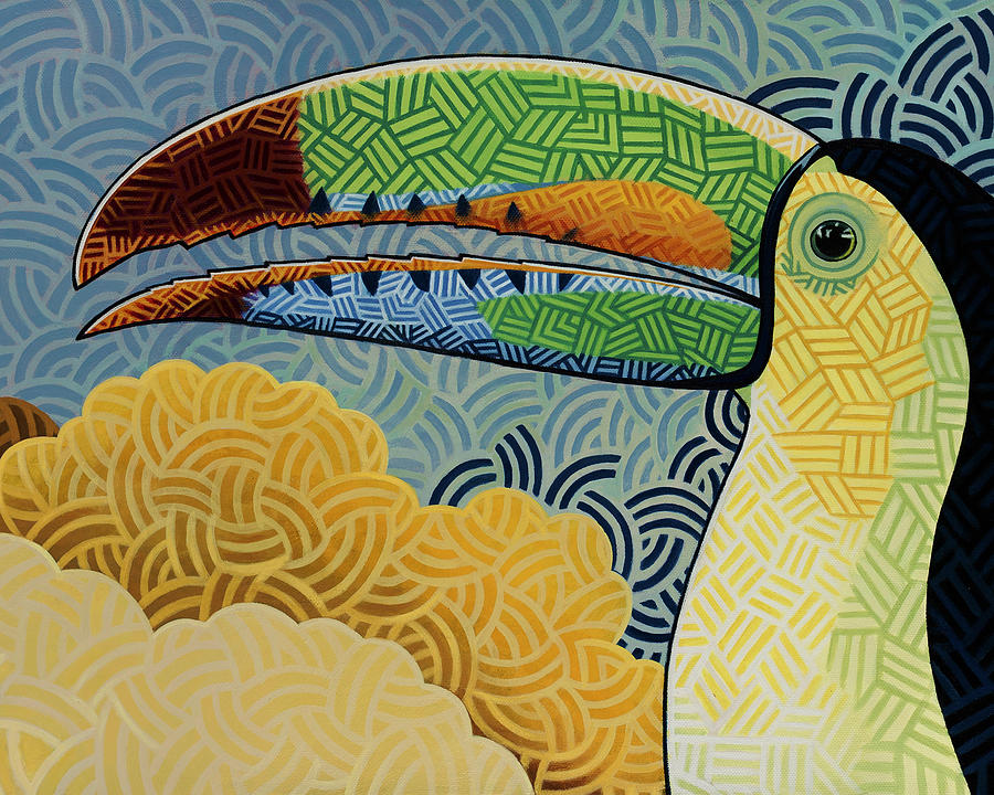 Keel-billed Toucan Painting