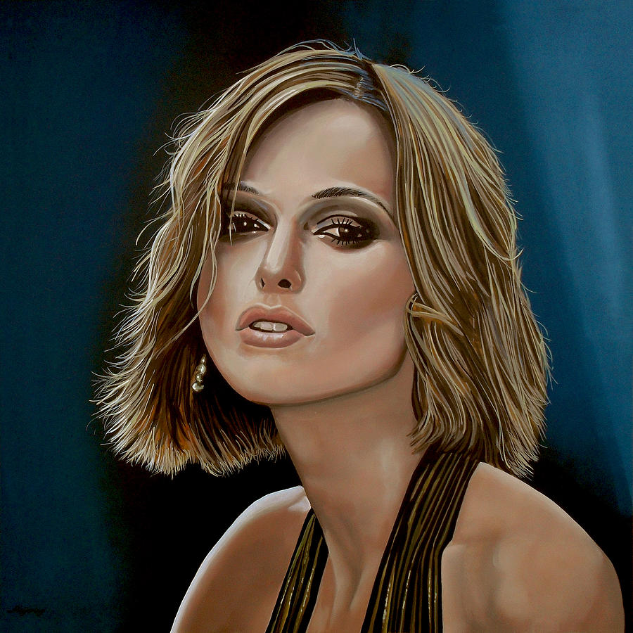 Keira Knightley Painting