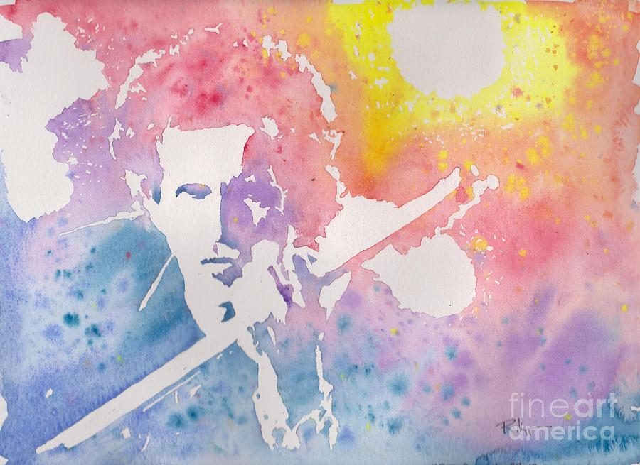 Watercolor Painting - Keith by Robert Nipper