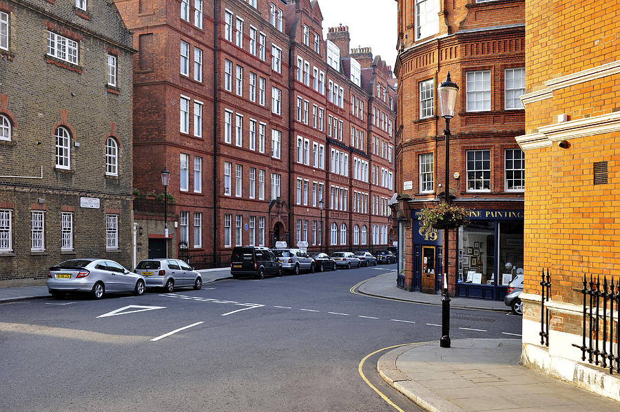Kensington Victorian Houses Photograph
