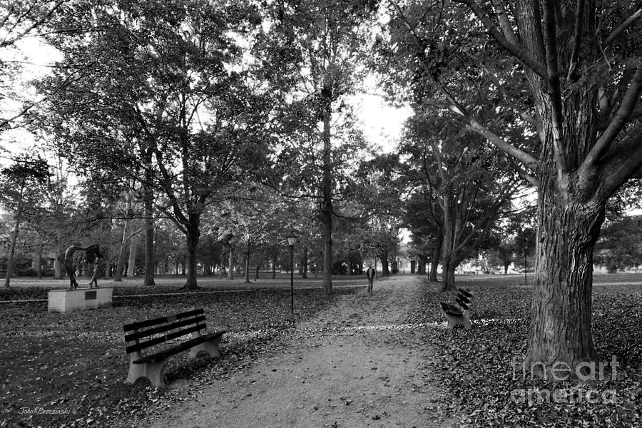 Kenyon College Middle Path Photograph
