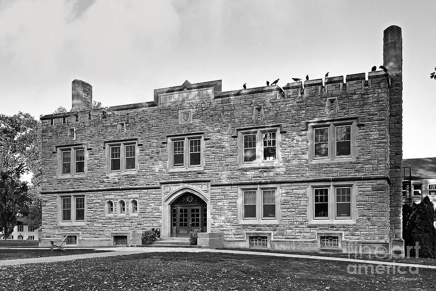 Annapolis Group Photograph - Kenyon College Ransom Hall by University Icons
