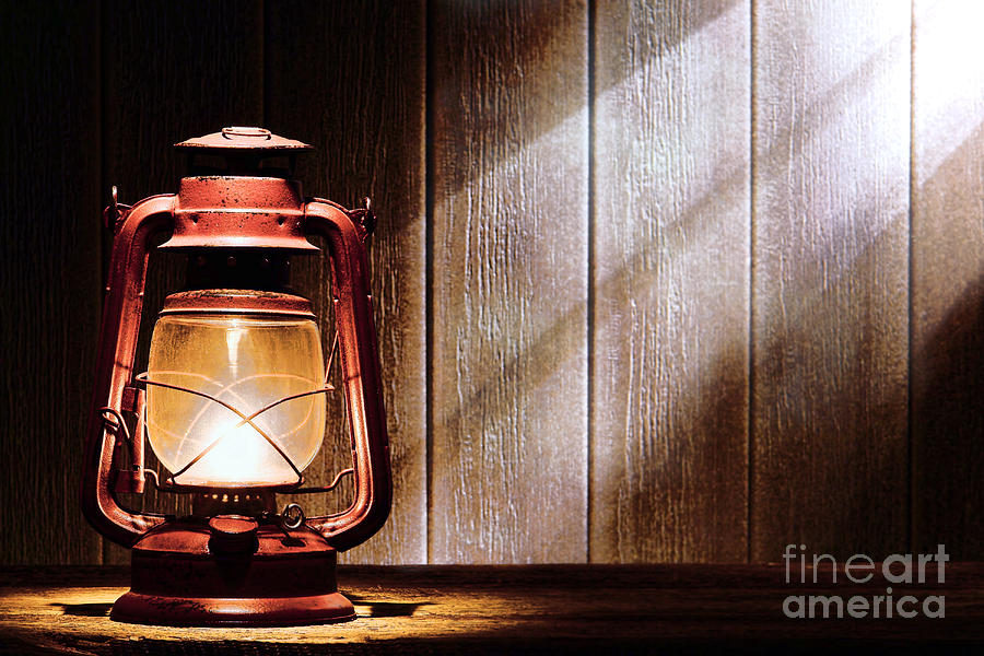 Kerosene Photograph - Kerosene Lantern by Olivier Le Queinec