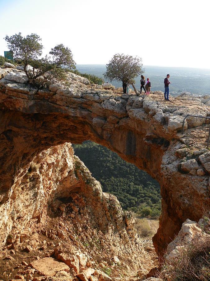 Keshet Cave Photograph